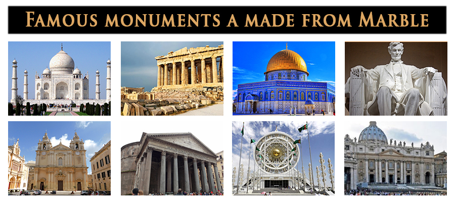 Famous Monuments And Sculptures Made From Marble – Charbhuja